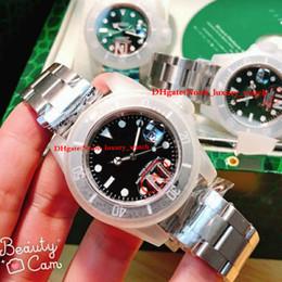 Discount mens eta movement watches - luxury watch 40mm V8 version 116610LN 116610LV automatic watch Miyota 8015 eta 2836 eta 3135 movement Ceramic bezell men