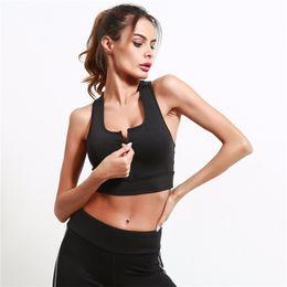 63eede7f616 Fitness Yoga Push Up Sports Bra for Women Gym Running Padded Tank Top  Athletic Vest Underwear Running Vest
