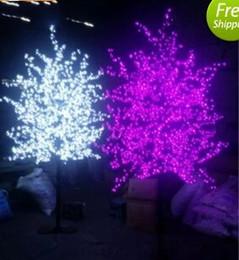 $enCountryForm.capitalKeyWord Australia - 1.8M Height LED Artificial Cherry Blossom Tree Light Christmas Light 1152pcs LED Bulbs 110 220VAC Rainproof fairy garden Christmas decor