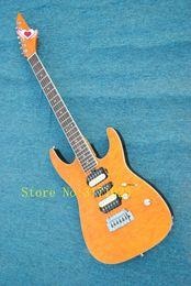 China Electric Guitar String Australia - custom shop china Yellow color electric guitar 6 string Electric Guitar free shipping
