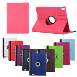 Rotating Tablet Stand Australia - 360 Degree Rotating PU Leather Stand Tablet Case Flip Cover For iPad Pro 11inch 2018 iPad Pro 10.5 2017 iPad Air 2