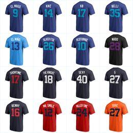 ce318015e 2018 Players Weekend Nickname T-shirts 17 Bryant