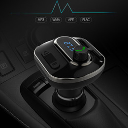 bluetooth handsfree car kit for iphone 2019 - Wireless Bluetooth Handsfree Car Kit Wireless Bluetooth FM Transmitter with 3.4A Fast Charger Quick Charge Adapter for i