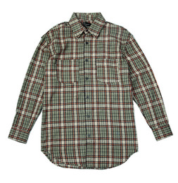 Blue flannel shirt men online shopping - best version a Fear Of God men casual shirts hiphop Justin Bieber tartan plaid cotton flannel man
