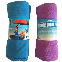 $enCountryForm.capitalKeyWord UK - Magic Cool Quick Dry Chair Beach Towels Lounger Mate Beach Ice Towel Sunbath Lounger Bed Holiday Garden Beach Chair Cover Towels New