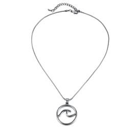 $enCountryForm.capitalKeyWord UK - Jewelry geometric style wave necklace, female wave clavicle chain