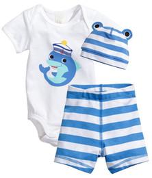 $enCountryForm.capitalKeyWord Australia - Infant New Style Baby Boy Clothes Set Outfits Cotton Animals Pattern Short T -Shirt +Pants 2pcs Infant Bebe Baby Girl Clothing Set