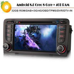 Sat Nav Stereo Australia - Octa Core 4G RAM 32GB ROM Android 8.0 DAB+ Car stereo for A3 S3 RS3 RNSE-P Sat Nav WiFi 4G Radio Car GPS Navigation player
