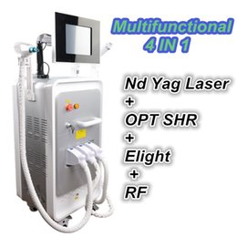 Laser Tattoo Removal Ce NZ - 5 In 1 Multifunction Hair Removal Machine OPT SHR IPL Laser Hair Removal ND YAG Laser Tattoo Removal Beauty Machine CE