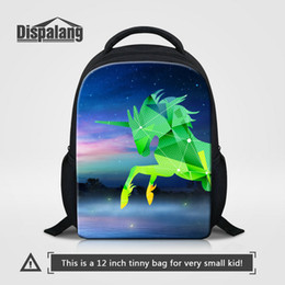 kids backpacks sales Canada - Unicorn Cartoon Backpack To School Hot Sale Children Schoolbags Bookbags For Kindergarten Animal Horse Print Daily Bagpack Kid Travel Rugzak