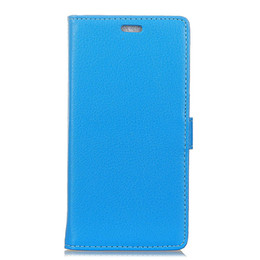 Leather Phone Case For Blackberry UK - New PU Leather For Huawei Honor 8X   for blackberry key 2 For nokia 5.1 plus Case Lychee Grain Flip Protector Phone Cover WITH Card Holder
