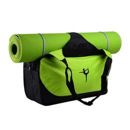 a3f054fb5e Multifunctional Clothes Yoga Bag Yoga Backpack Shoulder Waterproof Pilates  Mat Case Bag Carriers Gym Mat Sport
