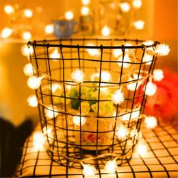 $enCountryForm.capitalKeyWord NZ - 1PC 3M 20LED Christmas Tree Snowball Shaped Fairy Light Led String wedding natal Garland New Year christmas decorations for home Y18102909