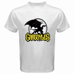 $enCountryForm.capitalKeyWord UK - New Gargoyles Fiction Icon Video Games Men's White T-Shirt Size S M L XL 2XL 3XL Tee Shirt Unisex More Size And Colors