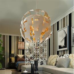 Ball Bedroom Lights NZ - New creative deformation pendant lamp Restaurant Living Room Bedroom Study Room Cafe Art Deformation Ball Light