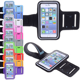 Wholesale For Iphone8 Waterproof Sports Running Case Armband Running bag Workout Armband Holder Pounch For iphone Cell Mobile Phone Arm Bag Band