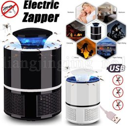 Discount electronic bug zapper - USB Electronics Mosquito Killer Lamp Anti Mosquito Trap Repeller Bug Zapper LED Insect Kill Lights Electric Mosquito Kil