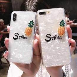Make Phone Cases NZ - Hand-made Bling Fruits Cute Case With Lanyard TPU Soft Cover Back Phone Case Protector For iPhone X 6 6S 7  7 8 Plus