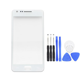 Chinese  Replacement LCD Outer Lens Glass Front Screen Panel For Samsung Galaxy S2 i9100 9100 Front Glass + Kits manufacturers