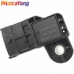 Intake Manifold Honda Australia - MAP Sensor 0261230217 Intake Manifold Air Absolute Boost Pressure Sensor for Chevrolet BYD F0 Honda Civic Jazz Stream Fit