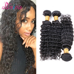 $enCountryForm.capitalKeyWord Australia - Filipino Curly Virgin Hair Weave 3 Bundles Deep Curly Virgin Styles 10A Virgin Filipino Hair Deep Wave 100 Human Hair Weave