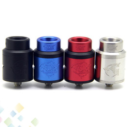 Chinese  528 Lost Art Goon V1.5 RDA Atomizer Lostart 1.5 with Wide Bore Drip Tip Peek Insulators fit 510 Mods DHL Free manufacturers