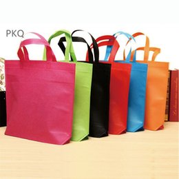 Wholesale Clothes Shopping Australia - 36x45x10cm Reusable Folding Shopping Bag Eco Shopping Bag For Shoes   Clothing Grocery Portable Large Packaging Bags Wholesale