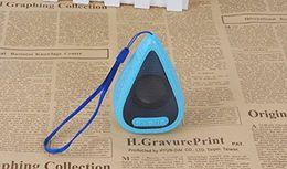 $enCountryForm.capitalKeyWord Australia - New Style Drop Water Mode Portable Mini Bluetooth Speaker Christmas Gift Seven Colorful LED Bass Box (Blue)
