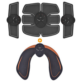 Inteligente EMS Quadril Trainer Estimulador Muscular Elétrico Sem Fio Nádegas Abdominal ABS Estimulador de Fitness Body Slimming Massager on Sale