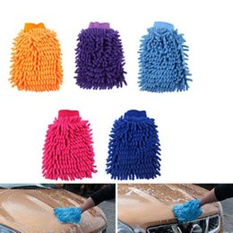 $enCountryForm.capitalKeyWord UK - Car Washing Cleaning Gloves Double Side Chenille car wash Tool Microfiber Cleaning gloves Wholesale Free Shipping