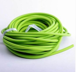 $enCountryForm.capitalKeyWord NZ - 5mm*5M Hunting Sling Shot Slings Rubber Sporting Natural Latex Tube Slingshot Green Color Replacement Band Accessories