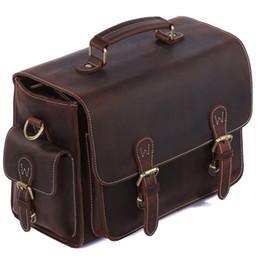 Vintage dslr camera bag online shopping - TIDING Luxury Genuine Crazy Horse Leather Camera Bag Handbags Shoulder Messenger Bag Crossbody For DSLR Camera And Lens