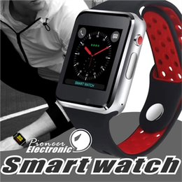 CapaCitive watCh online shopping - For apple M3 goophone smart watch smartwatch inch LCD OGS capacitive Touch Screen SIM Card Slot Camera for iphone PK DZ09 iwatch