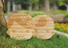 Personalized baby girl gifts australia new featured personalized 1131253cm kids baby wooden storage box organizer boys girls milk teeth save wood box trave kit english spanish version best gifts negle Gallery
