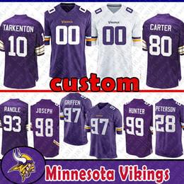 e09ced68e9f Minnesota Vikings Jerseys UK - 82 Kyle Rudolph Custom Jersey Minnesota  Viking 99 Danielle Hunter 88