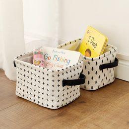 $enCountryForm.capitalKeyWord NZ - Muslin Baby Toys Storage Bags Trees stars Dots cross Mini Drawstring Bag Household Leather Foldable Storage Basket Desk Collect