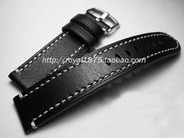 91e0845ed06 High Quality Smooth Softly Genuine Leather Watch Strap Band 18 19 21 men watchbands  Vintage Watch Band Strap Belt pin Buckle