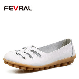 2019 FEVRAL Woman s Shoes Cow Leather Flat With Superstar Big Size 35-42  Oxford Shoes Women Loafers 2018 Casual Shoe Summer Shoes Sneakers 324148ca344c