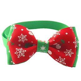 $enCountryForm.capitalKeyWord NZ - 2pcs Christmas Pet Bow Tie Dogs Pets Accessories Adjustable Christmas Pet Grooming Supplies Puppy Cat Decorations