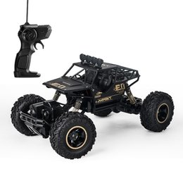 Toys cars remoTes conTrols online shopping - Children Remote Control Car Four Drive Alloy Strong Off Road Vehicle Toy Outdoor Complex Terrain Racing Toys ll WW