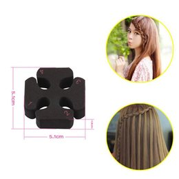 hair styling accessories for buns UK - hair clip hairpins hairband for Women girl Hair Accessories headwear holder bun bang creative style