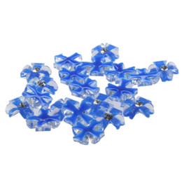 Chinese  20x Acrylic Flower Rhinestones For 3D Nail Art Tips Decorations manufacturers