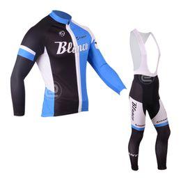 $enCountryForm.capitalKeyWord Canada - 2018 BIANCO Long Sleeve Cycling Jersey Bib Pants Suits men Road Bike Clothing Pro Team Outdoor Bicycle Clothes Mountain Uniform Set 111608Y