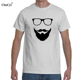 db3b5612e Beard And Glasses Funny T Shirt 2018 New Hipster Mens Clothing Short Sleeve  T-shirt Graphic Printing Tee Shirt Homme