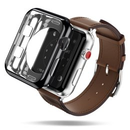 Sales Smart Watches NZ - Electroplate TPU Watch Protective Case High Quality Screen Protector for Apple Watch Hot Sale Apple Watch Protective Case Free Shipping