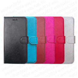 d1ce0057906 Cubierta de la caja de la cartera de cuero de la PU con la ranura de la  tarjeta cubierta de la cubierta Shell para iPhone 5s 6 6s 7 8 Plus X Xs Max