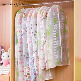 Organizadores Para Closet Dust Cover Cloth Organizers Stroage Bag  Transparent Dustproof Cloth Hanging Organizer Waterproof
