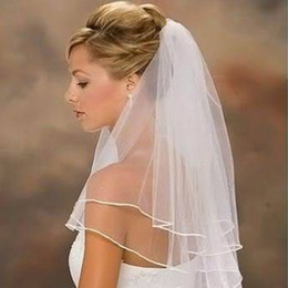 $enCountryForm.capitalKeyWord NZ - Two-layer bridal veil refined large wholesale two-layer with comb copy side veil factory direct Bridal Veils