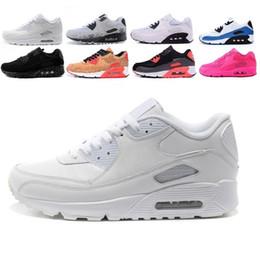 Discount euro fashion shoes - 2018 90 Wholesale Fashion Men Women Sneakers Classic Men women Sports Trainer Air Cushion Surface Breathable Running Sho