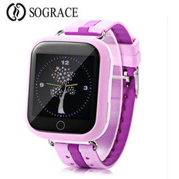 touch screen for kids UK - Original Q750 Baby GPS Smart Watch 1.54inch Touch Screen SOS Call Location for Child Smartwatch GPS intelligen Watch for kids